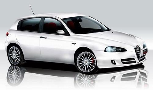 sports car: Alfa Romeo 147 2.0 Twin Spark