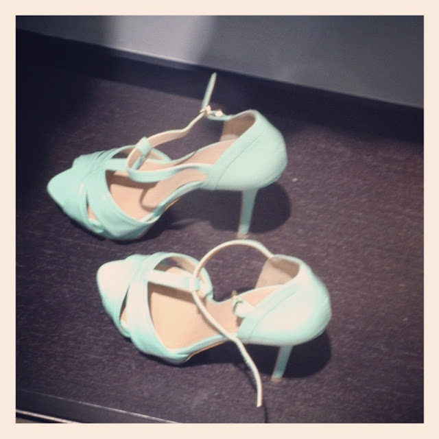 MINT SHOES ZARA PE 2012- SCARPE ZARA COLOR MENTA