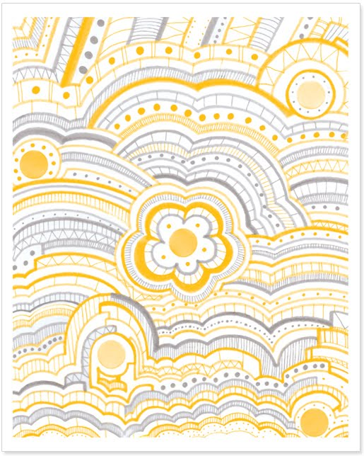pattern and textiles print by Paper Squid Karyna Amador