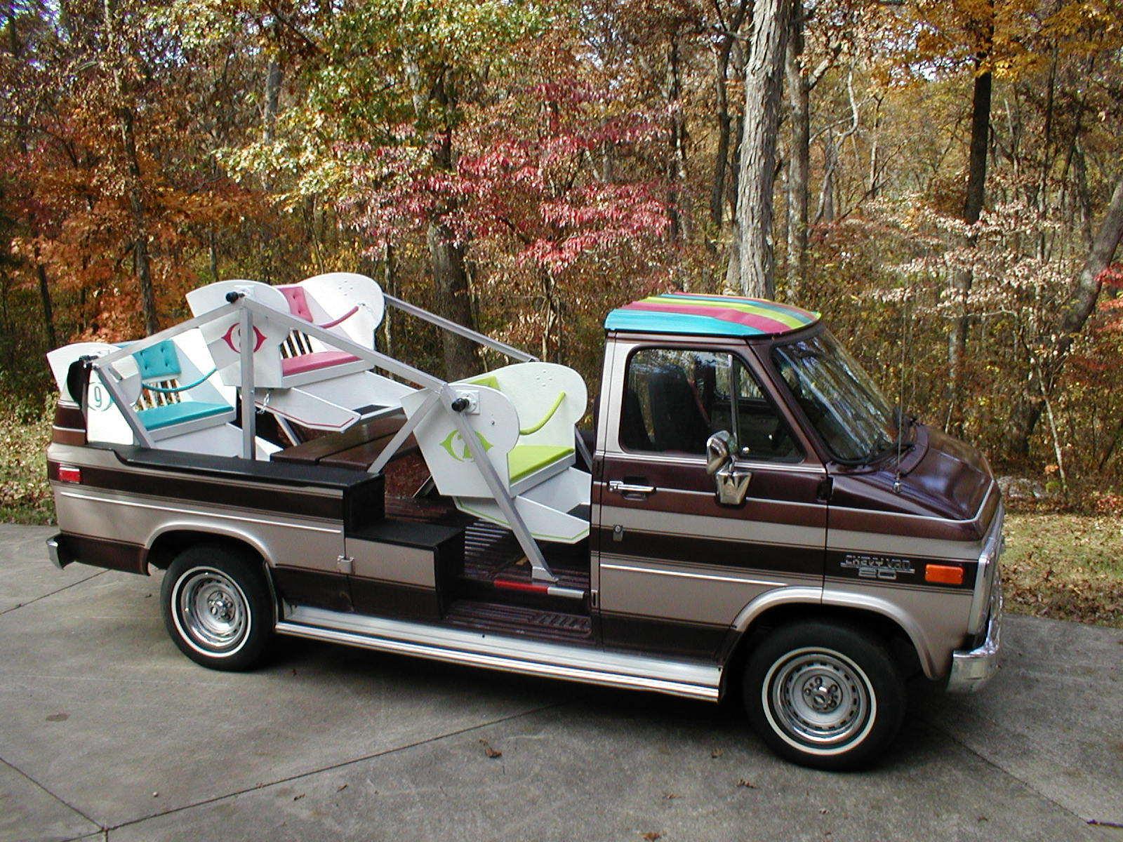 1989 Chevy Van With Ferris Wheel Seating
