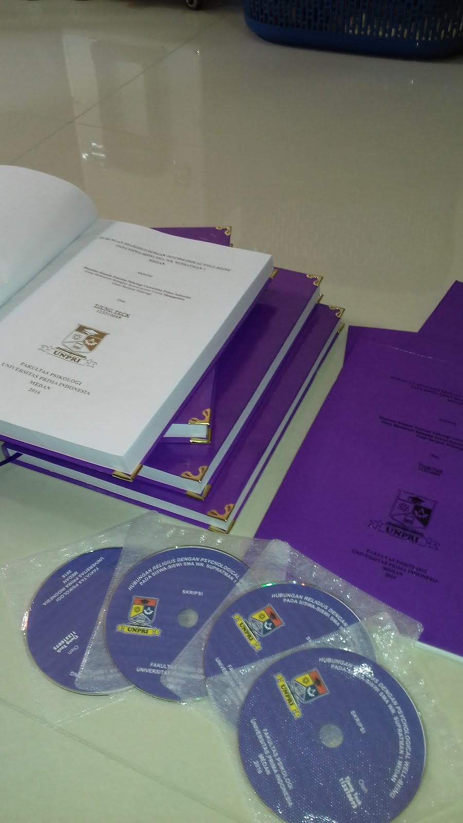 Data ilmiah penelitian skripsi Psikologi