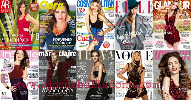 Revistas femeninas septiembre 2013