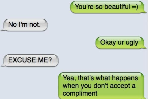 Pay A Girl A Compliment & WTF!!!!!