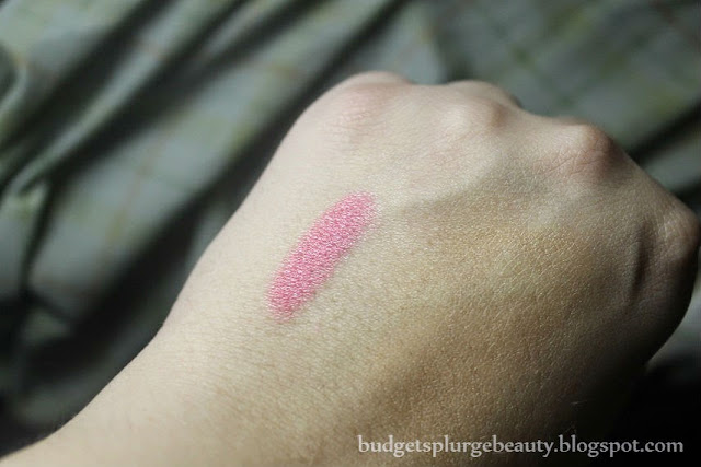 pouty pop crayon swatch