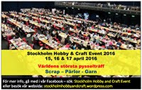 Stockholm Hobby and Craft Event 2016