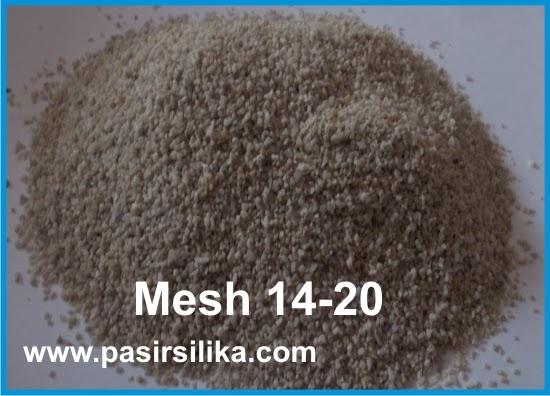 Mesh 14-20 Pasir Silika, Penjual Pasir Silika Murah, Harga Pasir silika, Suplier Pasir Silika