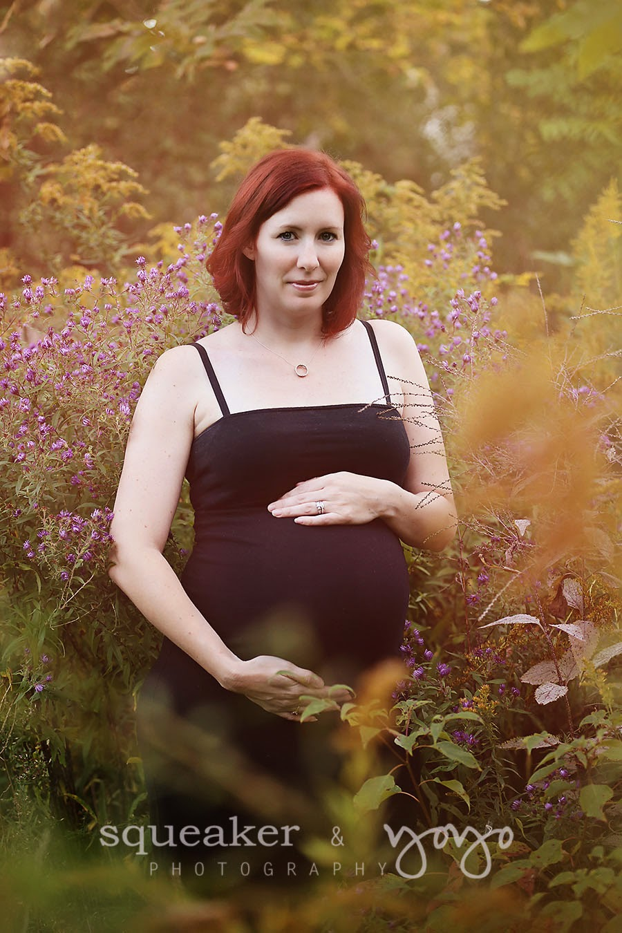 Georgetown ontario maternity photos - fall