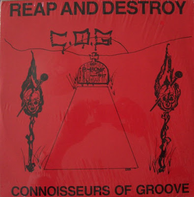 Connoisseurs Of Groove ‎– Reap And Destroy (1987, LP, 256)