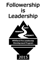 2015 Wildland Fire Leadership Challenge logo