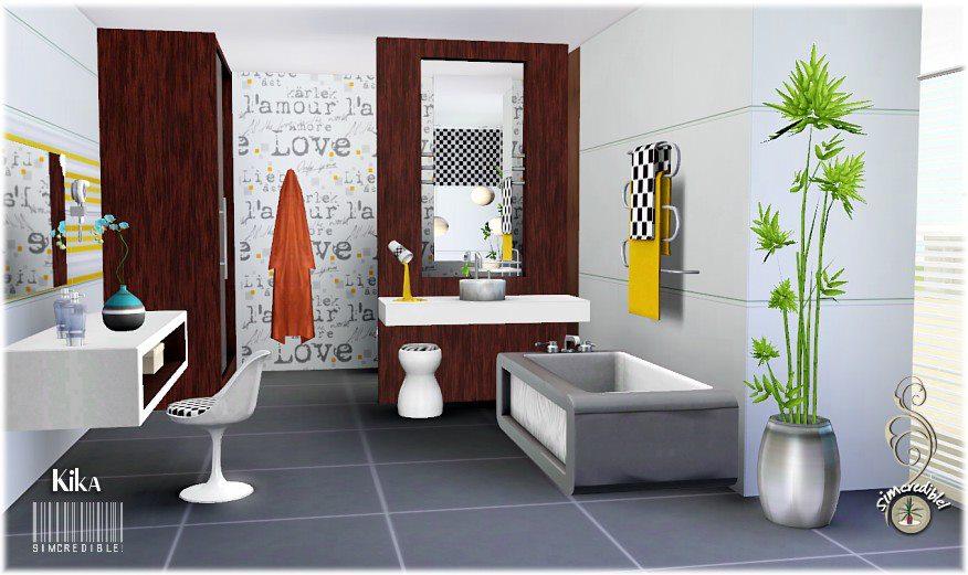 my sims 3 blog kika bathroom set by simcredible designs