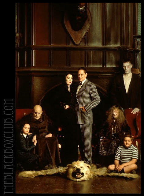 The Black Box Club: THE ADDAMS FAMILY: THEY'RE CREEPY AND ...