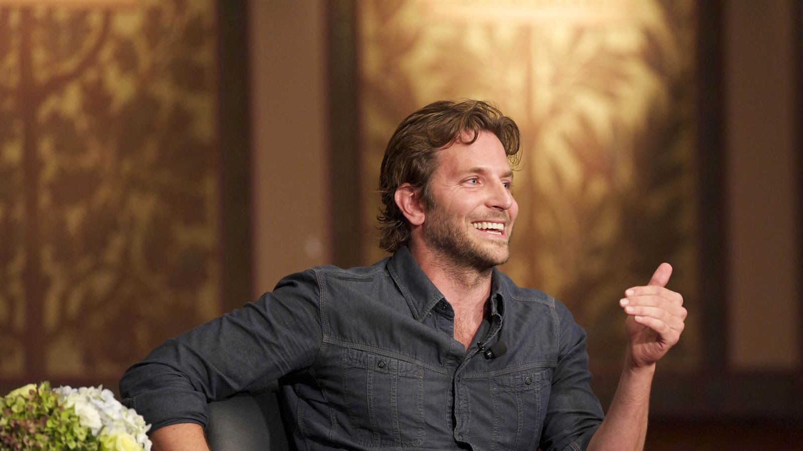 Bradley Cooper on Talk Show