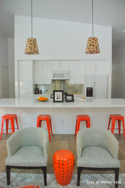 Modern vacation house on a budget with an Ikea kitchen