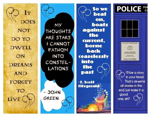 Infowhelm 5 Free Printable Bookmarks For Your Circulation