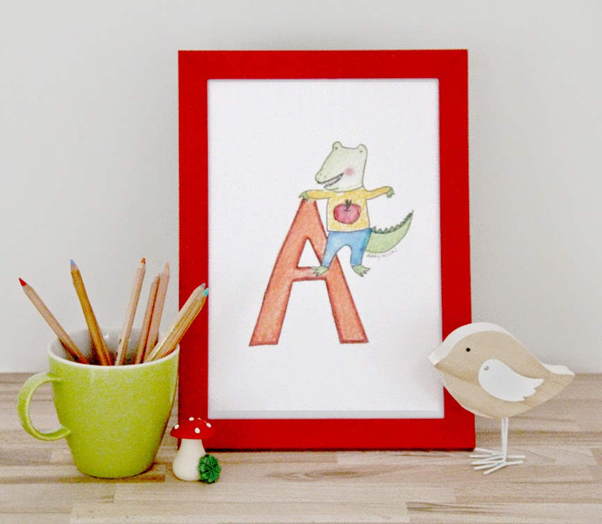 Alphabet Printable Wall Art | Lady Lucas