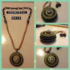 Faux Vintage Tin Necklace *FREE