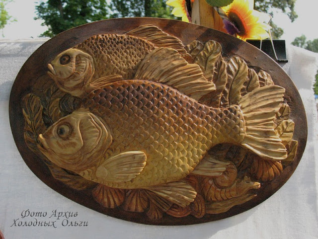Рыба панно