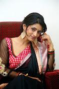 Nidhi Natuiyal Glamorous Photos in Saree-thumbnail-11