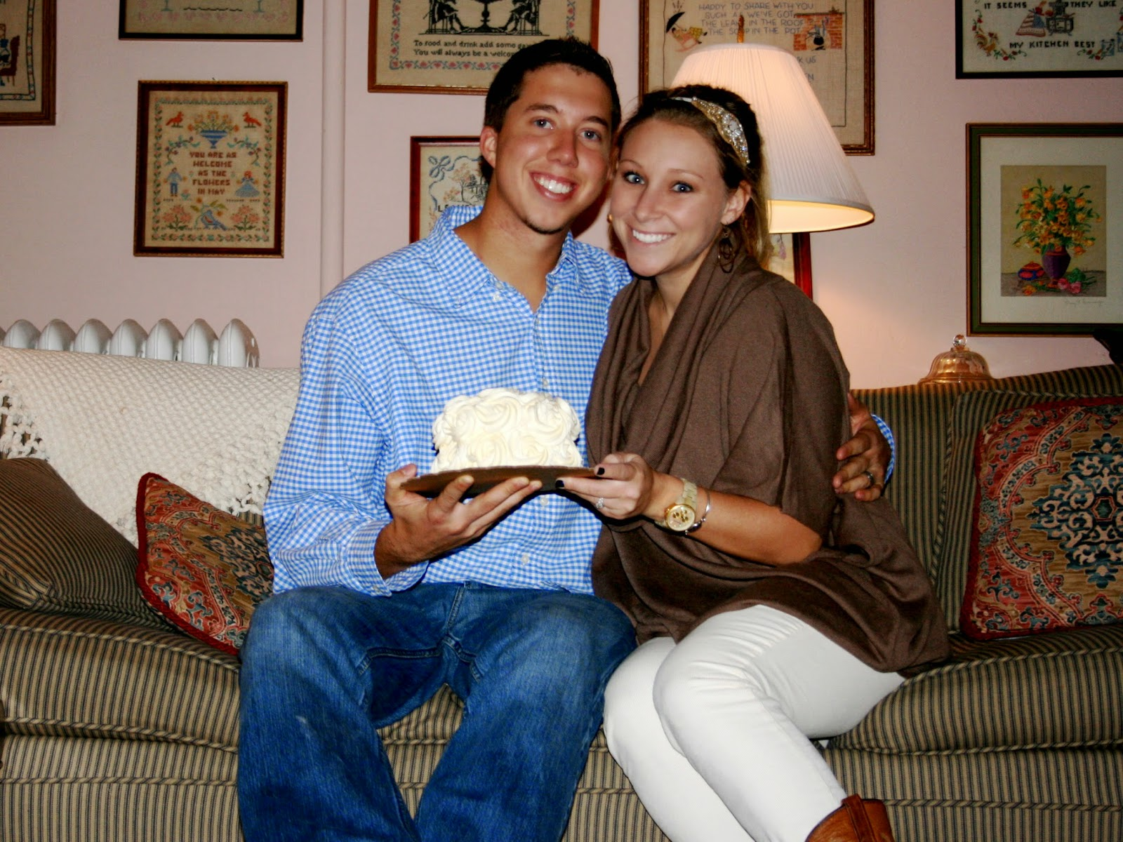 Anniversary Cake - Just Cupcakes - Blog With The Browns