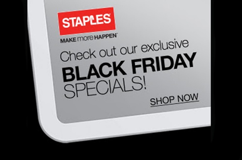 Staples Black Friday Specials