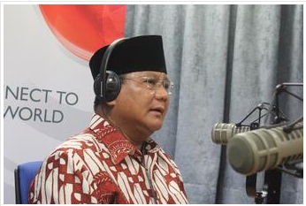 Prabowo BBC Interview Indonesia Elections on Radio
