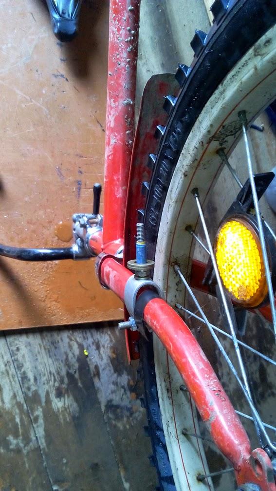 Велотормоз своими руками