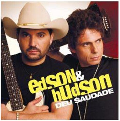 Capa Edson e Hudson – Deu Saudade (2012) | músicas
