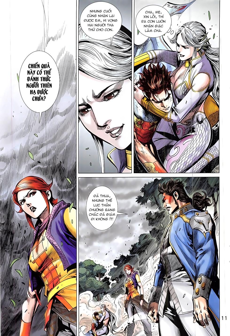 Thần Chưởng chap 24 – End Trang 11 - Mangak.info