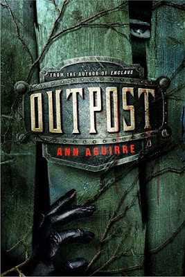 Cover image of Outpost by Ann Aguirre, a YA post-apocalyptic/dystopian novel releasing in September 2012.