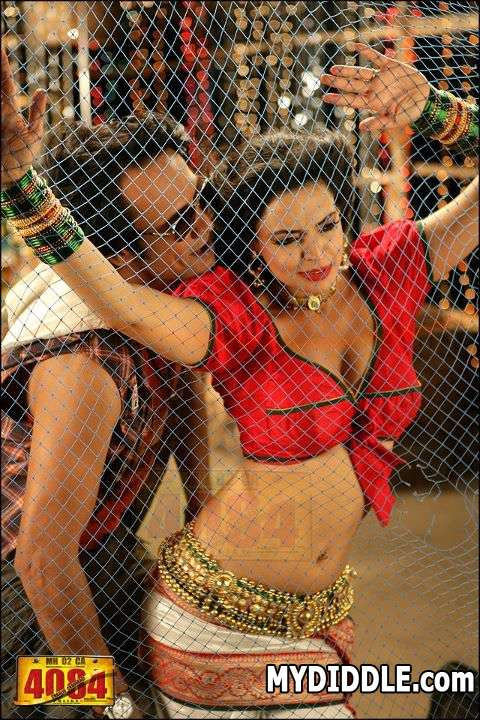 Shweta Bhardwaj Hot Pics in Red Choli1 - Shweta Bhardwaj Hot Item Song Pics in Red Choli