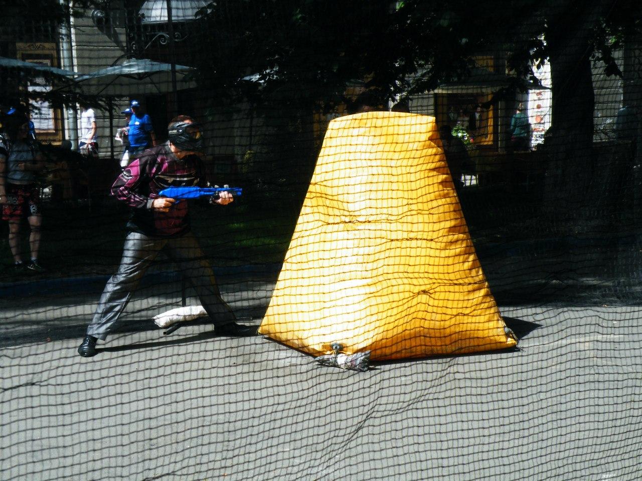 детский пейнтбол