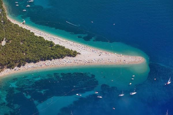 Das goldene Horn: Traumstrand auf der Insel Brač in Kroatien