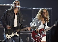 Kid Rock with Sheryl Crow at Summerfest
