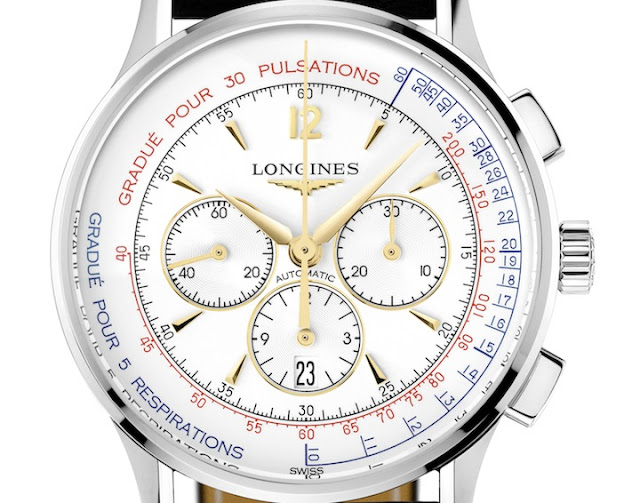 Introducing the Longines Asthmometer-Pulsometer Chronograph