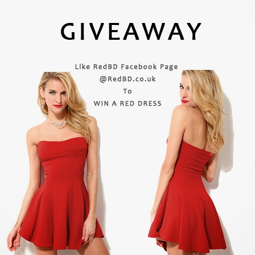 REDBD GIVEAWAY-WIN A RED DRESS