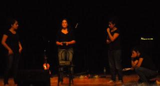 Alumnas da RESAD na homenaxe a Celso Emilio Ferreiro en Vigo