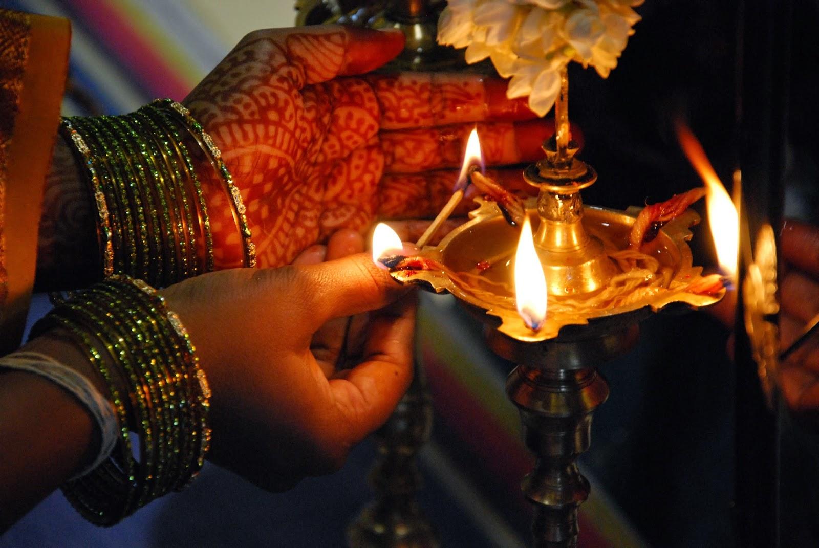 India Por Que Lamparinas