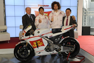 Honda Gresini Team Motogp 2011