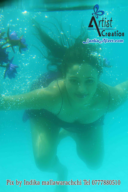 Udari  Underwater Hot Photo Shoot