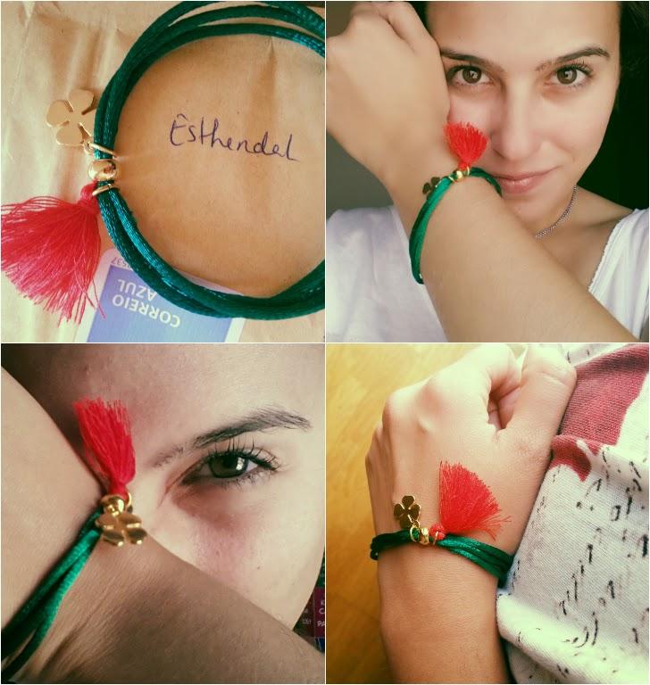 Uma pulseira solidária | Esthendal