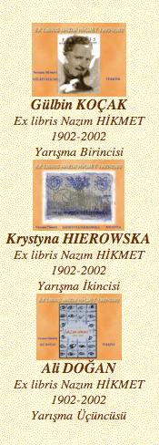 Exlibris Nazım Hikmet 2002