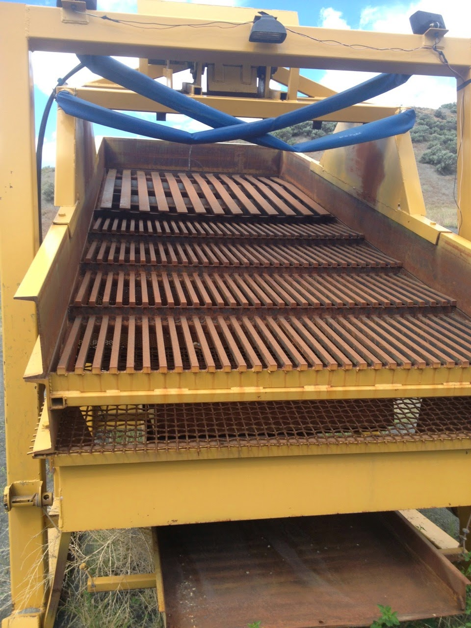 Wash Plant For Sale, includes water pump and welding trailer