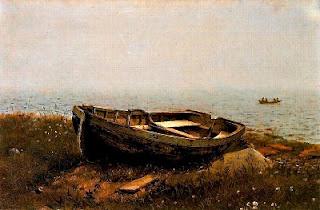 Barca abandonada (Frederic Edwin Church)