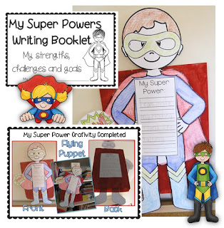 My Super Powers Craftivity Clever Classroom