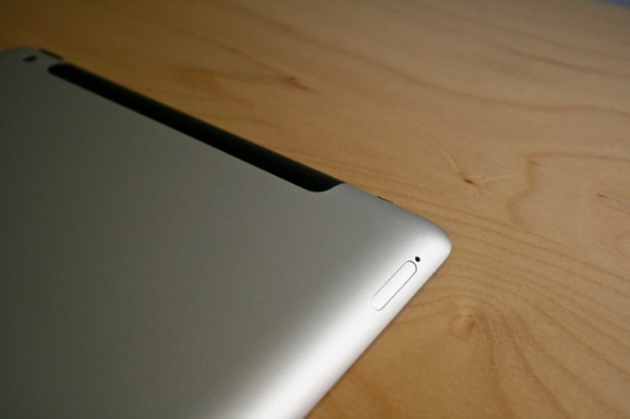 Apple ipad 3 back photo