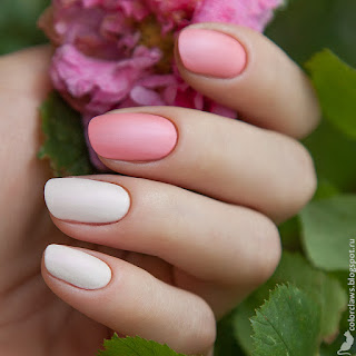 Catrice Luxury Nudes #01 White and Bright + #04 Your Fresh Apri-Coat
