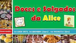 Doces e Salgados da Alice