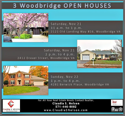 3 Open Houses PW8748002, PW9517911, PW9512570