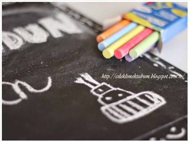 ahşap, Ahşap Boyama, karatahta, chalkpaint, tebesir, handmade, dekoratif boyama, hediye, dogumgunu hediye, craft, elyapımı, Siyah, siyahbeyaz, blackandwhite, ahşap pano
