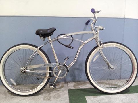 自転車の 中国製自転車のフレーム : だいぶイメージが変わります ...